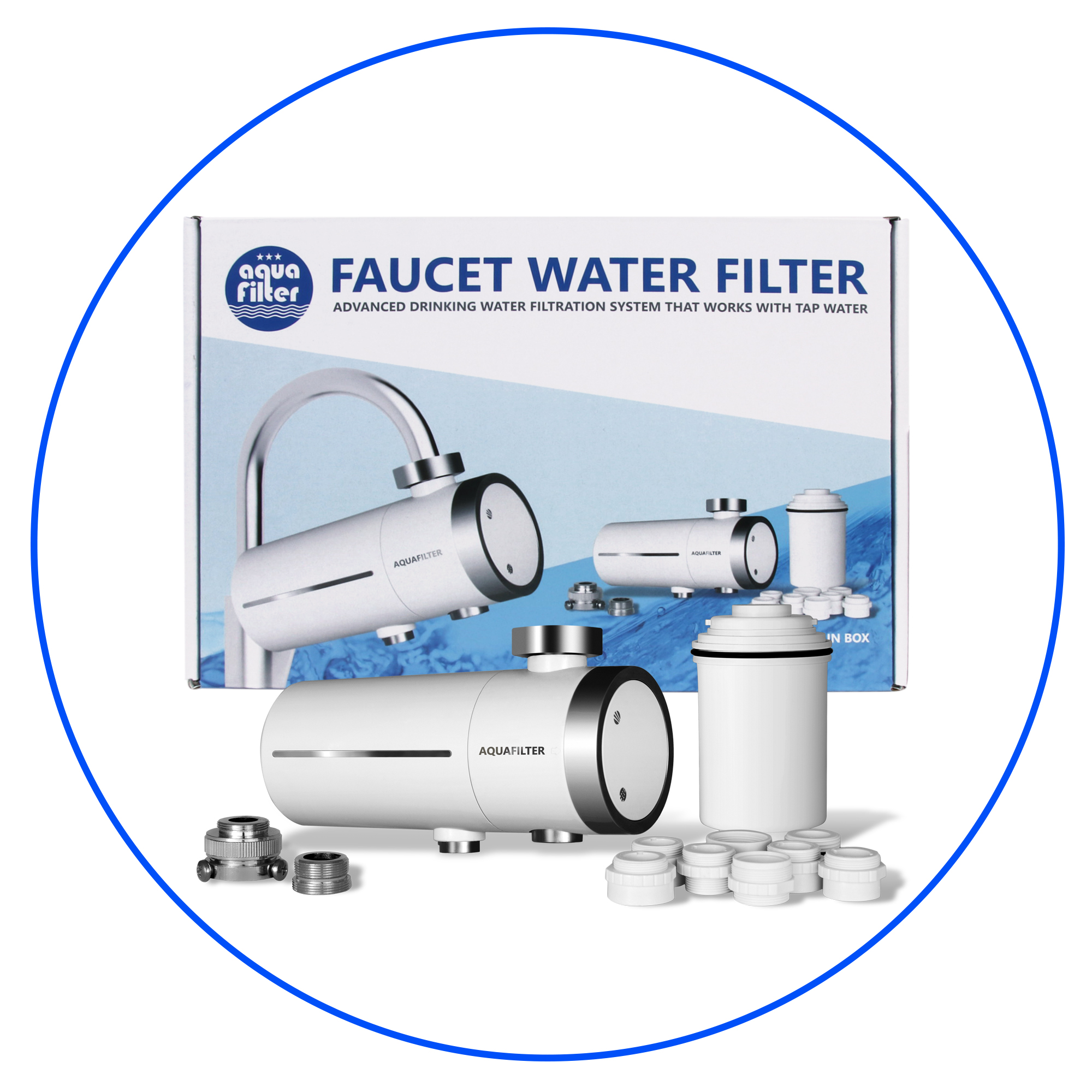 Faucet & Countertop Water Filters | Aquafilter