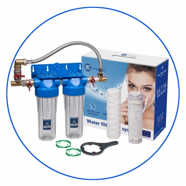 Whole House Water System FHPR34-B1-TWIN-B