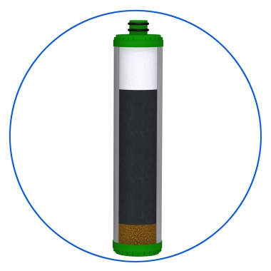 Water Carbon Cartridges - FCCBKDF-SL