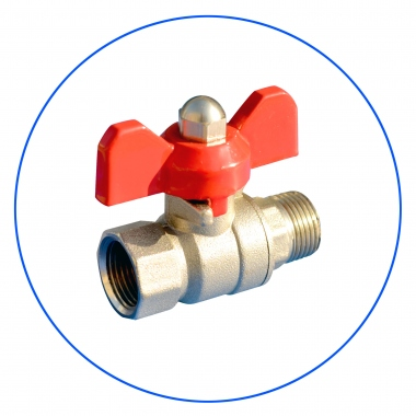 Brass Ball Valve F10SV-2