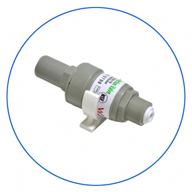 Pressure Regulator For Undercounter and RO Systems PLV-0104-80_K
