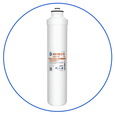 Water Softening and Iron Removal In-line Cartridge AISTRO-2-TW
