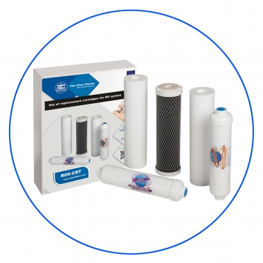 Water Cartridge Set - RO6-CRT
