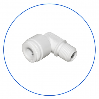 Elbow Tube With Check Valve AQ-A4ME2-CV-W